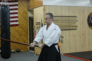 sensei frank with bokken